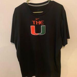 Nike Miami Hurricanes Dri Fit